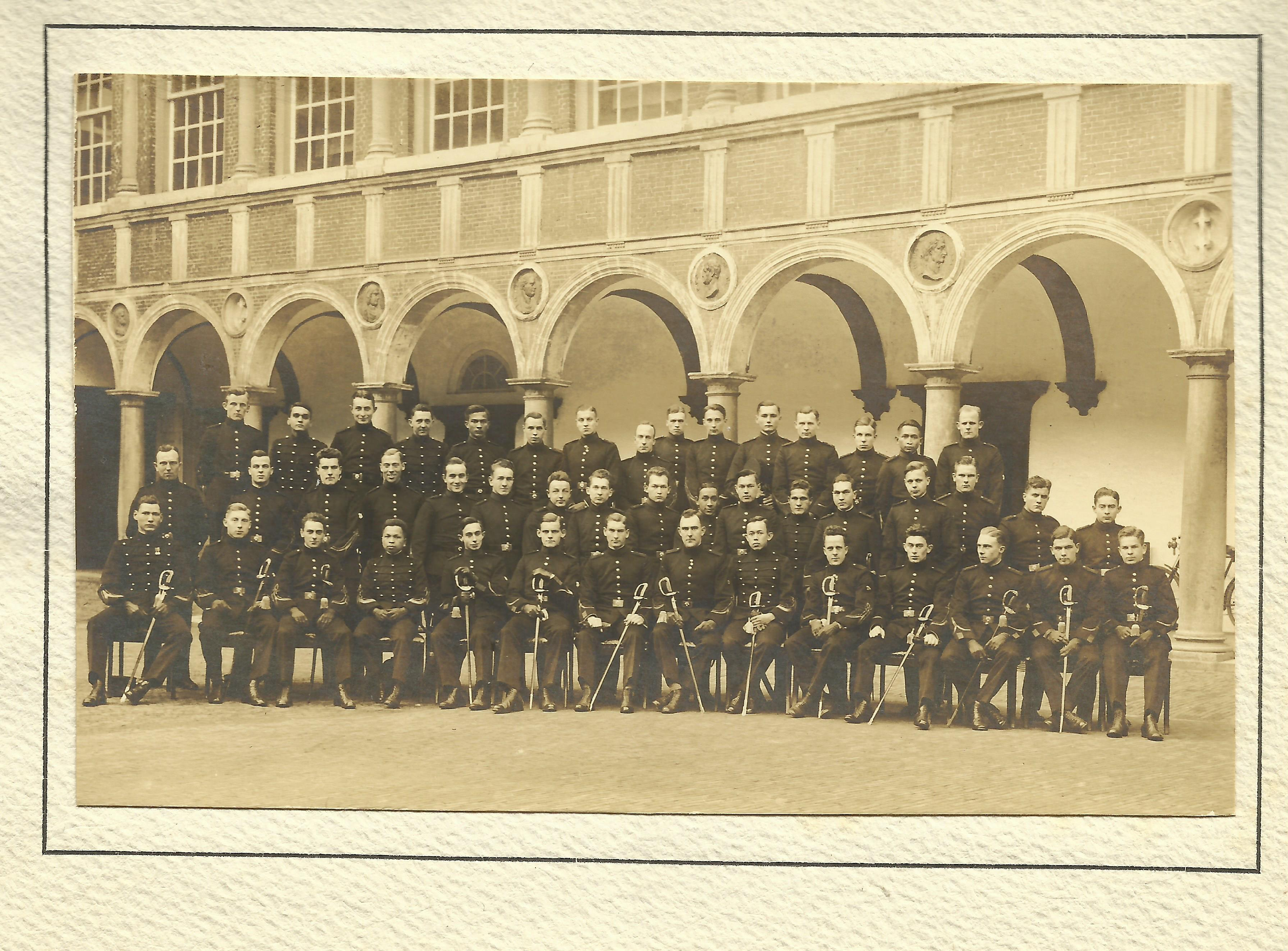 Groepsportret KMA, 1926-1927